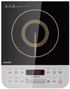 Philips Viva Collection HD492801 2100-Watt Best Induction Cooktops (Black)