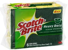 scotch brite heavy duty scrub sponge_usa