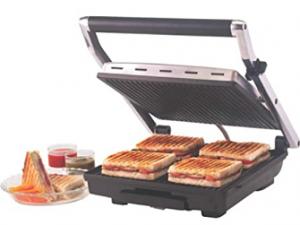 Borosil Super Jumbo BGRILLSS23 2000 Watt Grill Sandwich Maker