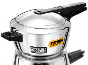 Futura Stainless Steel Induction Compatible Pressure Cooker