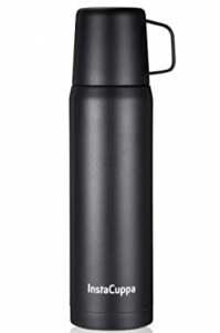 InstaCuppa Thermos Bottle Vacuum Insulated Coffee & Tea Thermos Flask