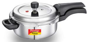 Prestige Svachh Deluxe Alpha Stainless Steel Pressure Cooker
